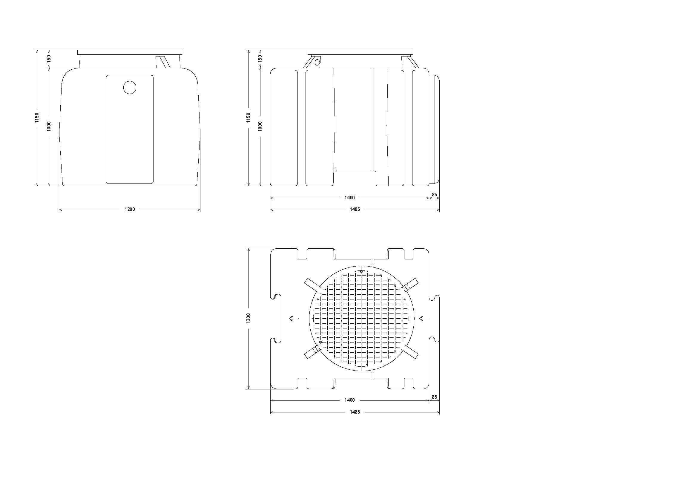 etar's compactas ETAR's Compactas 1000Litros Page 1