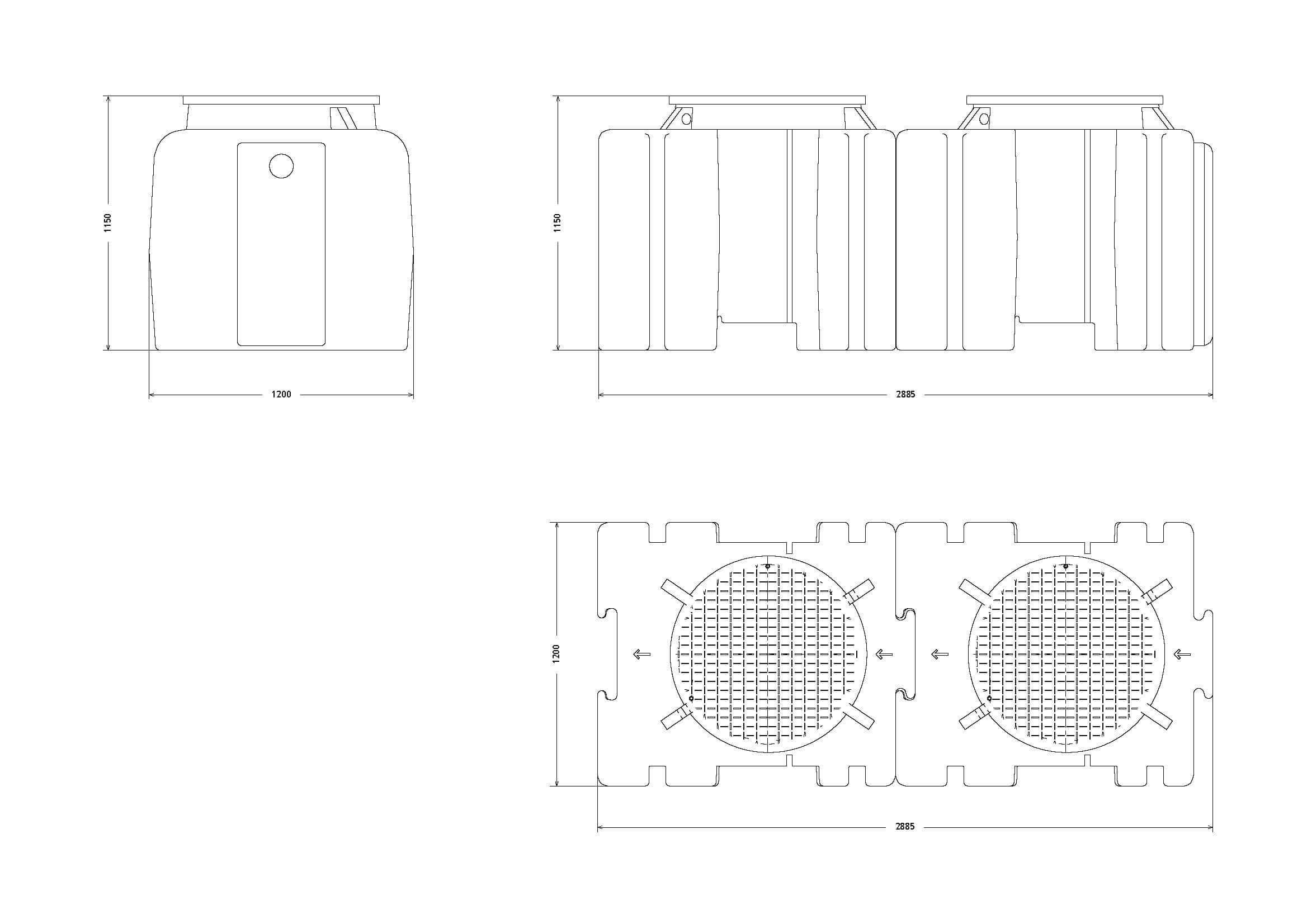 etar's compactas ETAR's Compactas 1000Litros Page 2