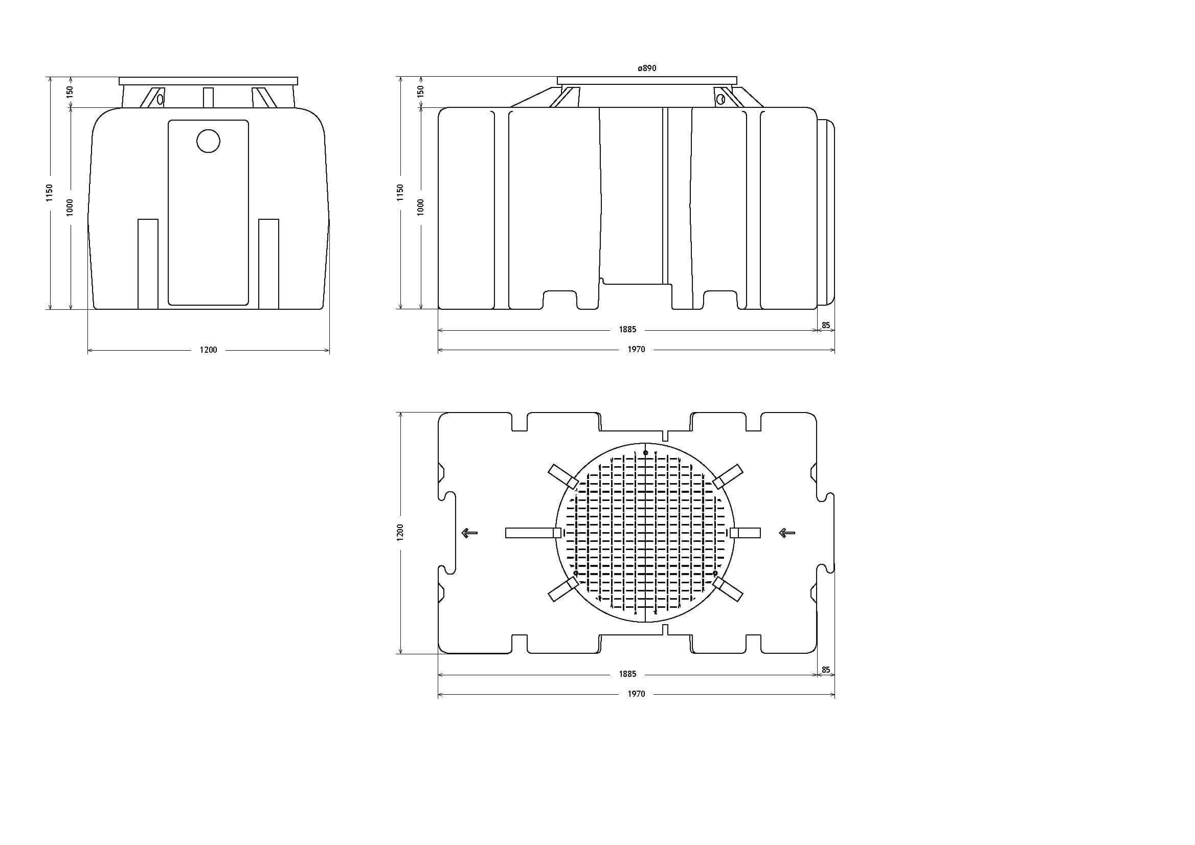 etar's compactas ETAR's Compactas 1500Litros Page 1