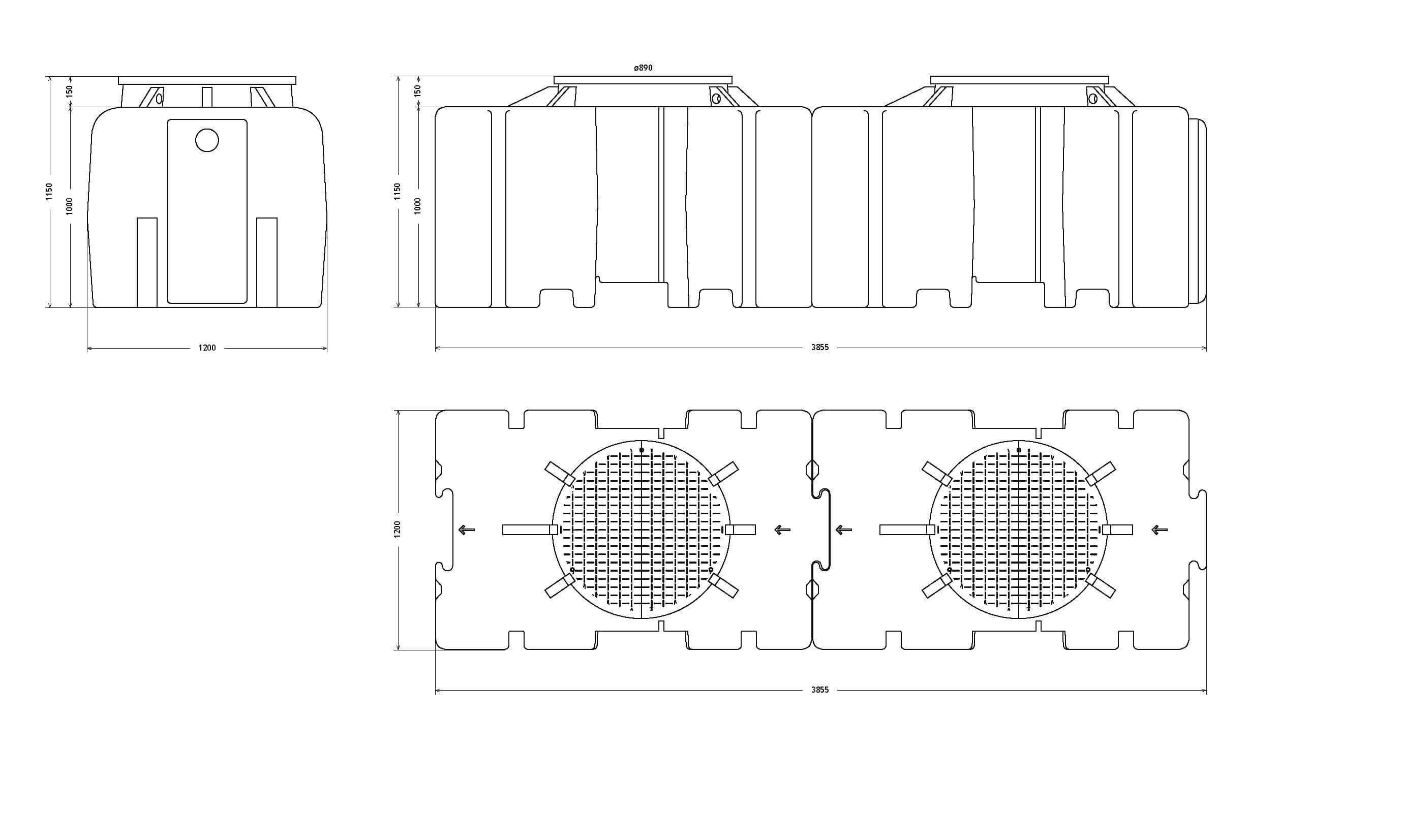 etar's compactas ETAR's Compactas 1500Litros Page 2