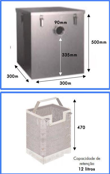 separador de féculas Separador de Féculas c cesto 1