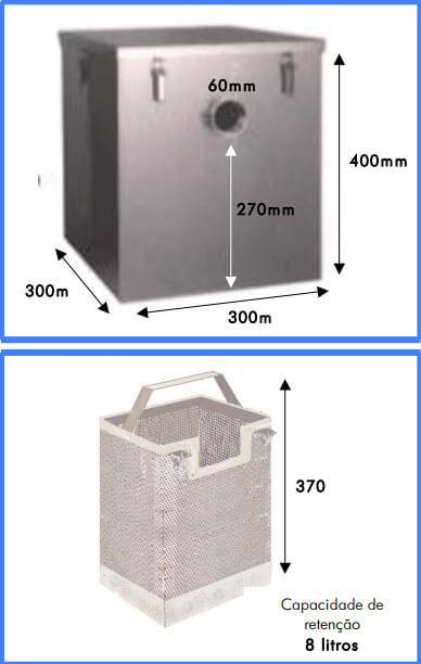 separador de féculas Separador de Féculas c cesto